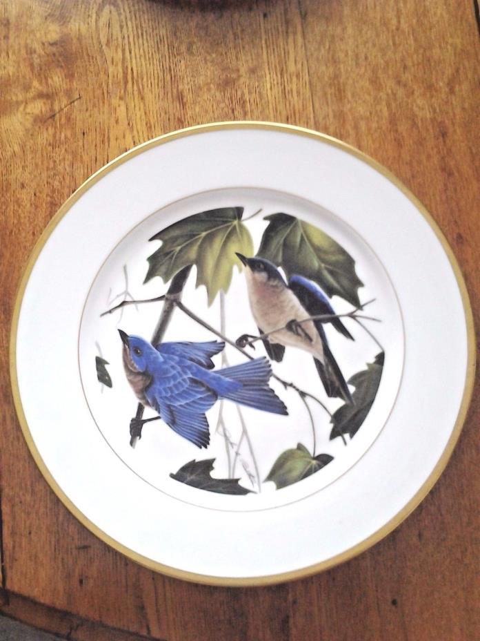 Ruthven Hutschenreuther Limited Edition Eastern Bluebird 10.5