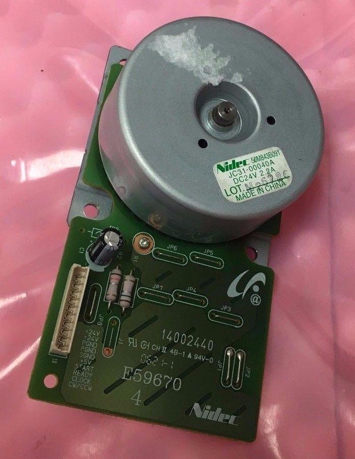 XEROX PHASER 3500 Nidec 24VDC Printer Motor 14002440