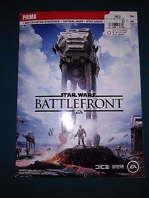 Star Wars: Battlefront ~ Official Strategy Guide ~ Prima ~ New