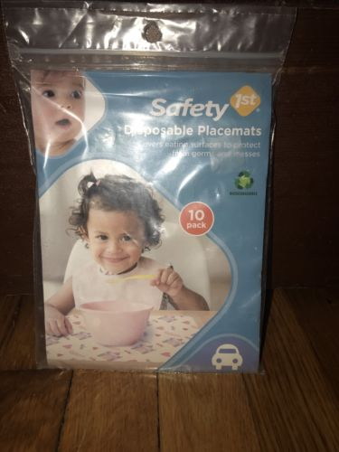 Safty 1st Disposable Placemats 10Pack