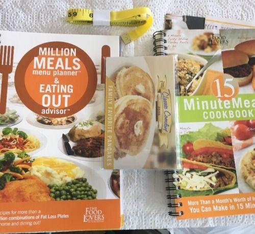 Lot 2 Food Lovers Fat Loss Million Meals Planner 15 Minute Meals Cookbook recipe