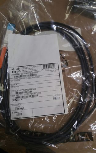 NEW GENUINE CISCO SFP-H10GB-CU3 m 10GbE TWINAX 10Gbase CABLE 3M COPQAA6J