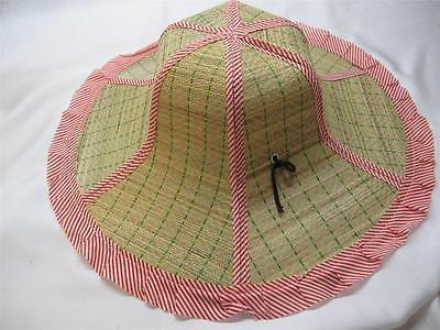 straw gardening hat STRAW GARDENING HAT large brim Free Shipping USA
