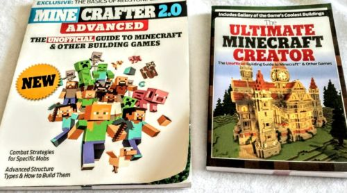 Ultimate Minecraft Mine Crafter Building Guide Books Gallery of Pictures Two Lot