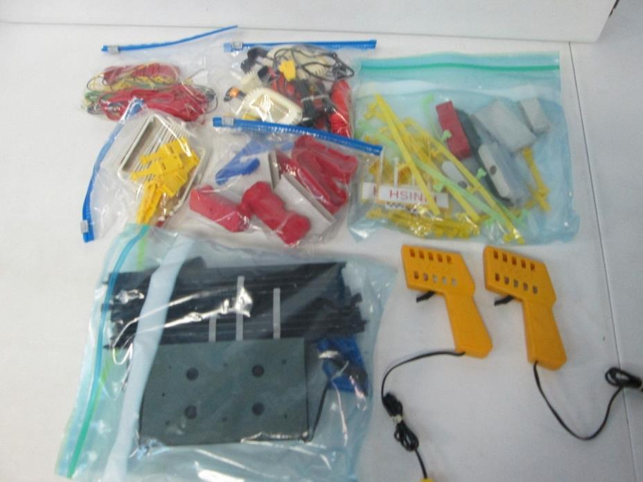 Large lot of Tyco HO Slot Car Accessories