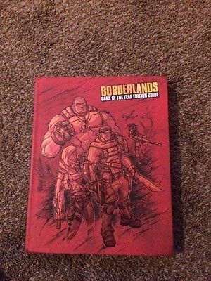Borderlands Game of the Year Edition Strategy Guide Book