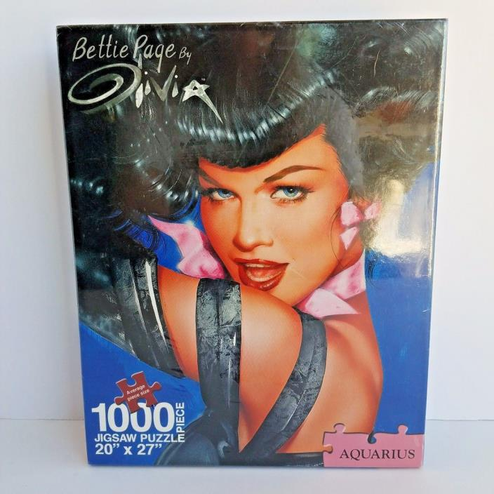 Bettie Page By Olivia Eyes 1000 Piece Jigsaw Puzzle 20