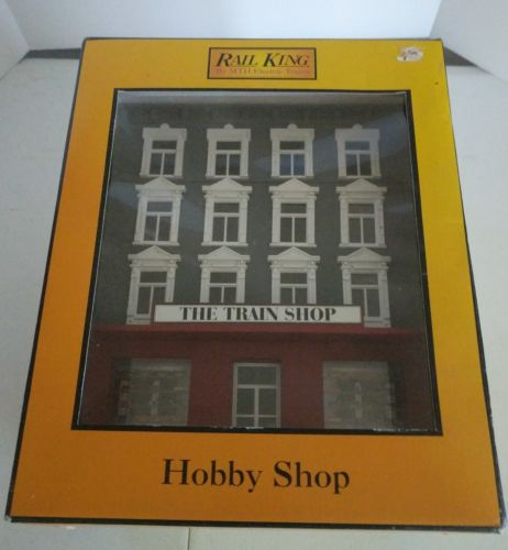 Rail King MTH 30-9004 Rail Town Hobby Shop - new in box