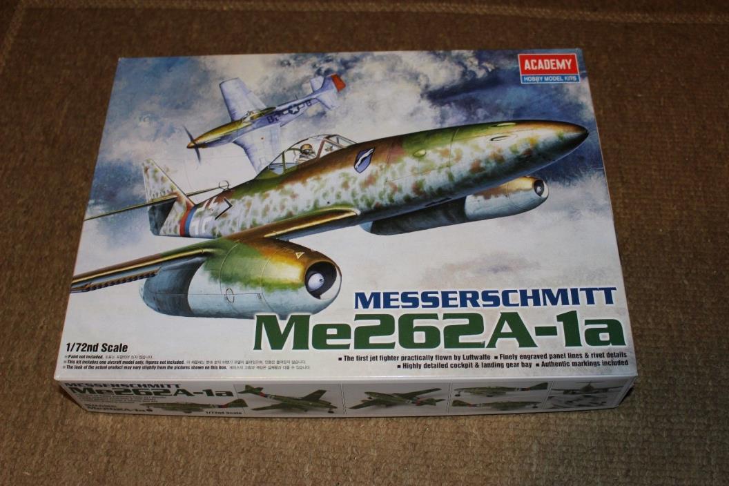 Academy Messerschmitt Me262A-1A 1/72