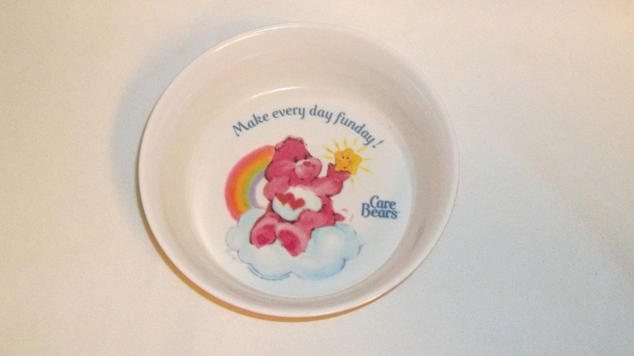 Vintage Care Bears Melmac Bowl, Make Everyday Fun Day!