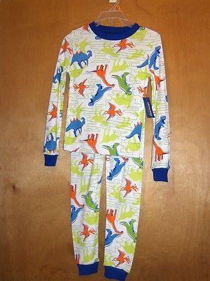 Boys Dinosaur Print Pajama Set    Size 4