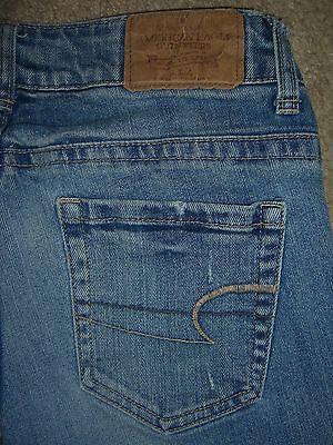 AMERICAN EAGLE Bermuda Shorts Stretch Denim Jeans Womens Size 2