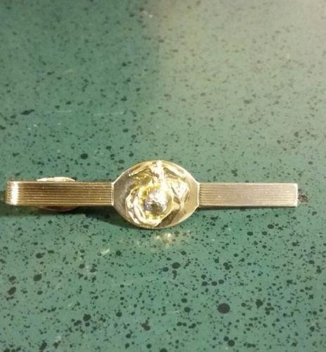 USMC Marine Corps Brass Tie Bar O.E.C. 14-77