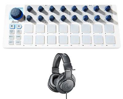 Arturia Beatstep + Headphones