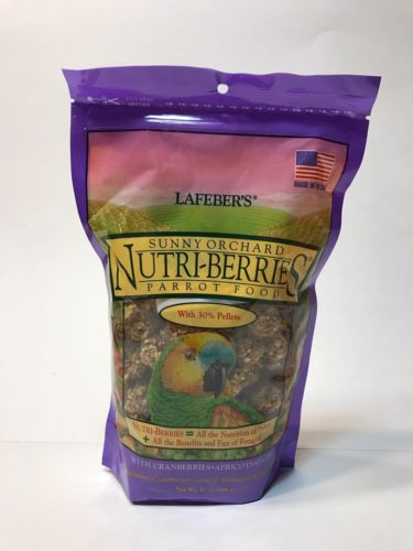 LAFEBER - Gourmet Sunny Orchard Nutri-Berries for Parrots - 10 oz. (284 g)