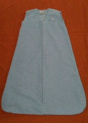 HALO SleepSack Micro Fleece Wearable Blanket, Blue, Large Size L (jc20)