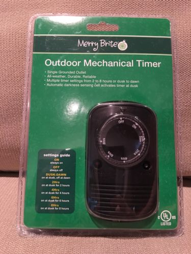 Outdoor Mechanical timer