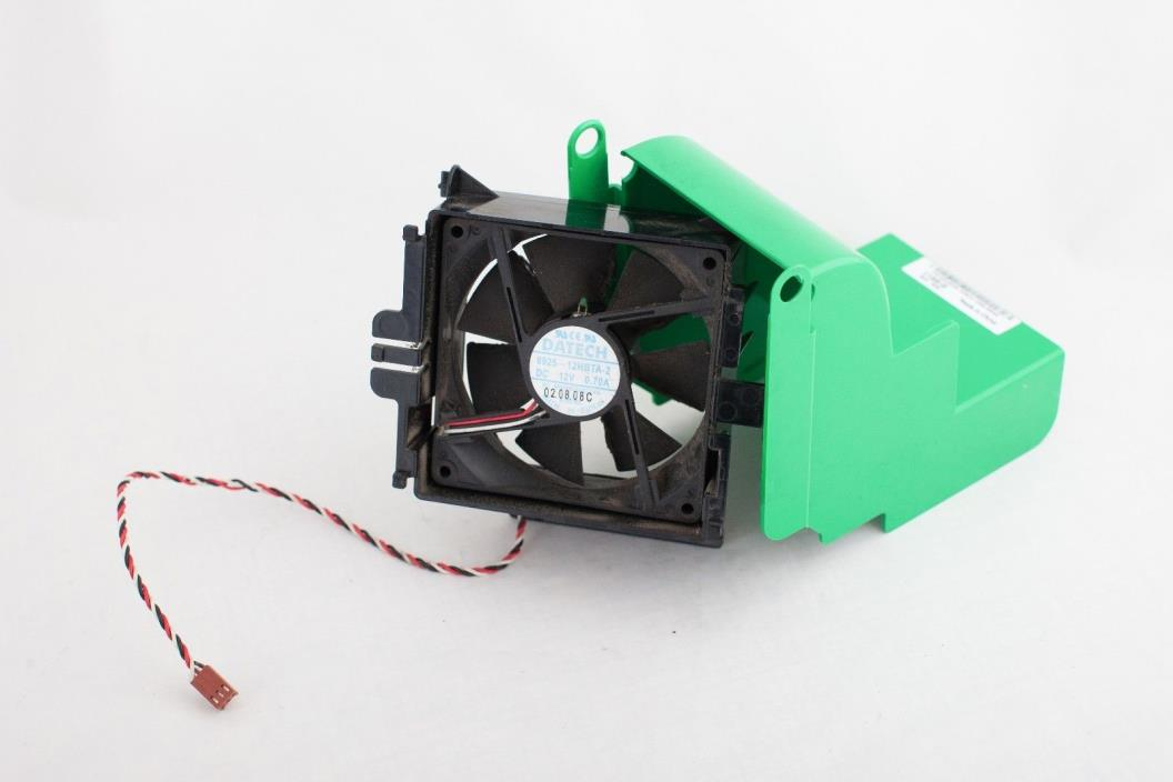 Dell Dimension 2300 2350 CPU Cooling Fan/ Shroud 02X333 Datech 0925-12HBTA-2 FAN