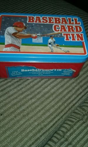 Vintage Baseball card tin