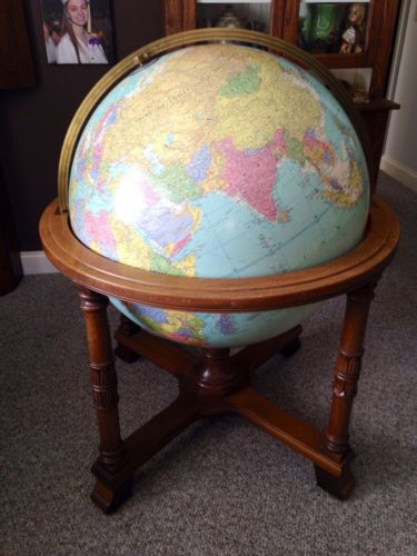 Replogle Library Floor Globe 32