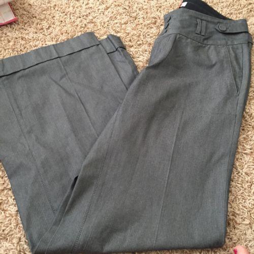 BANANA REPUBLIC 4 Gray Martin FIT Dress Pants O25