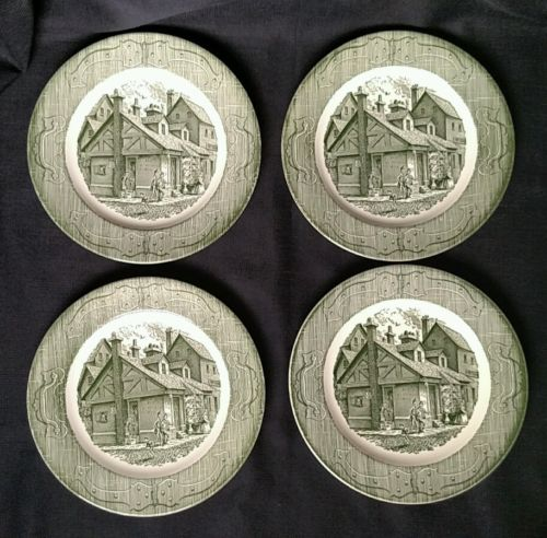 Set of 4 Vintage Royal China The Old Curiosity Shop 10