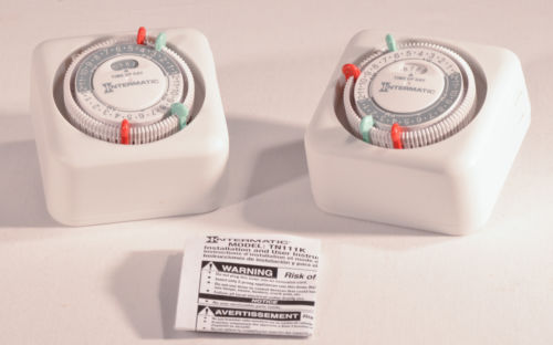 Intermatic 15A Indoor Plugin Timer | Lot of 2
