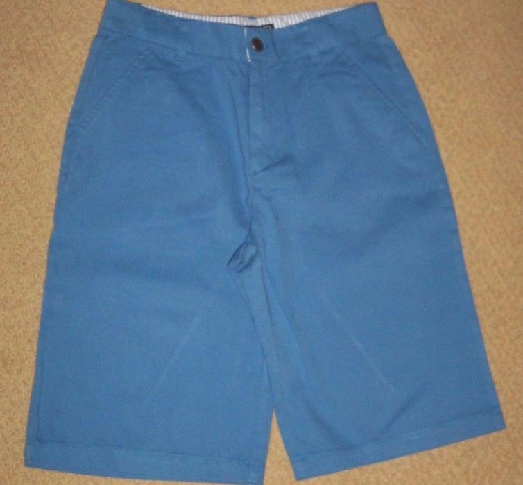 NWT Boutique American Classic E-LAND Boys size 12 'Blue Fish' SHORTS  *Easter*