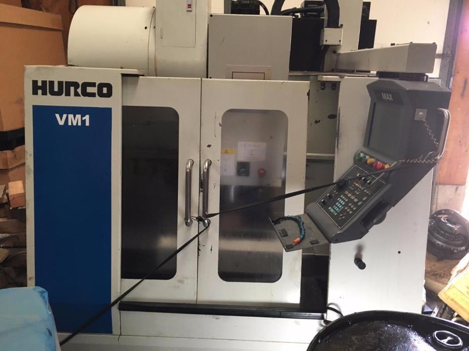 Hurco VM-1,8000 rpm, cat 40, Hurco Ulti-max control