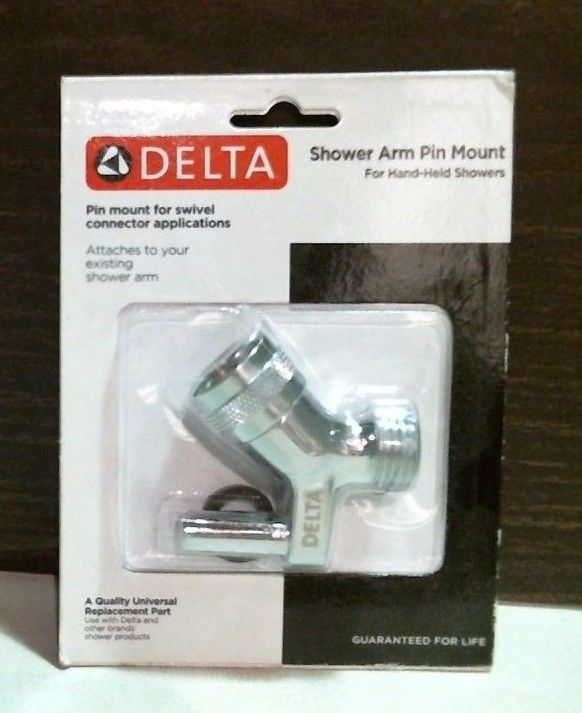 Delta 75015 Shower Arm Pin Mount For Swivel Hand-Held Showers Chrome Finish FS