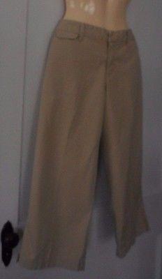 Merona Womens size 10  100% Cotton Khaki Capri Pants