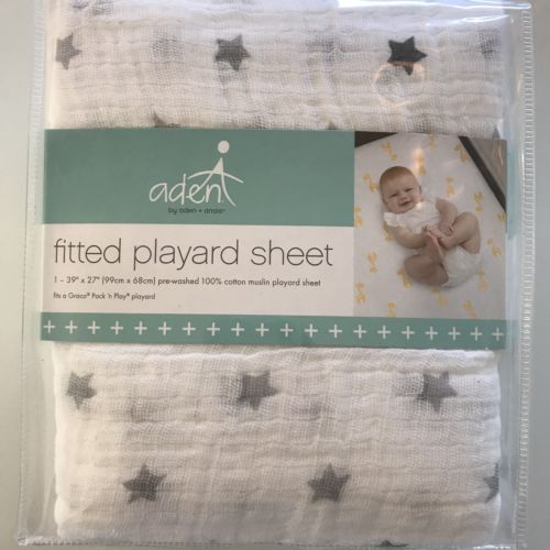 Aden+Anais New Fitted Playard Sheet