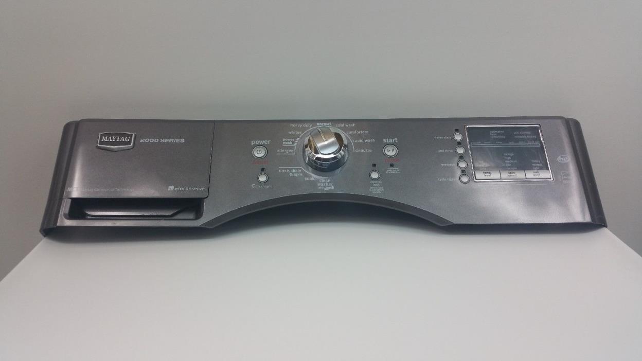 Maytag, Whirlpool Washer Control Panel ASM. W10372882 WPW10372882 & WP W10215800