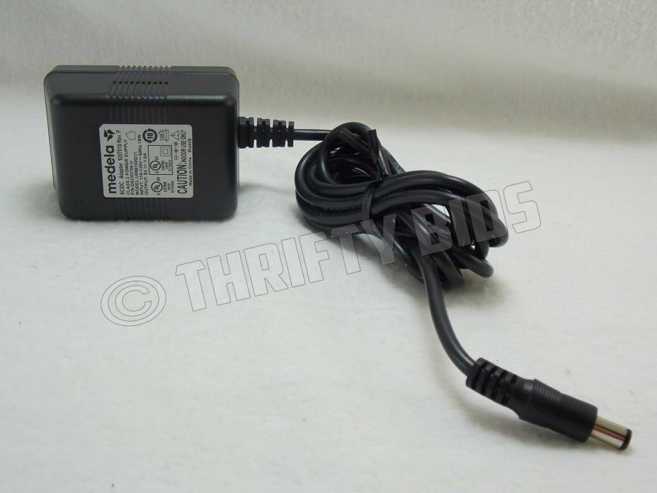 Genuine Medela 9207010 AC Adapter Power Supply 9VDC 1A Pump in Style U090100D31