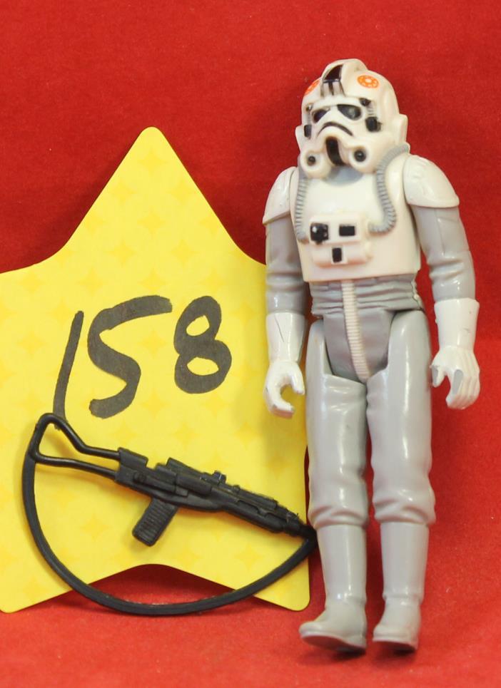 Star Wars Vintage AT-AT Driver with Original Weapon 1980 Hong Kong #158 1980 Ken