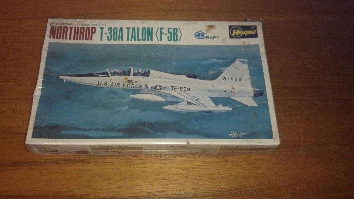 Hasegawa/Minicarft 1/72 Scale Series Northrop T-38A Talon SEALED!!!