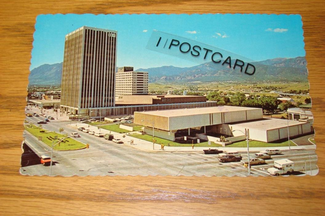 Penrose Public Library, Holly Sugar Building Colorado Springs, CO 1970s - RPPC
