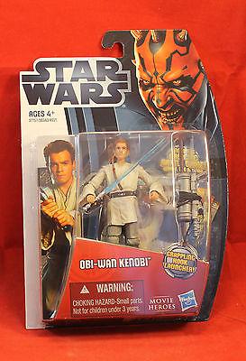 Star Wars Movie Heroes Collection #MH08 Obi-Wan Kenobi  Hasbro