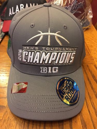 Michigan State Spartans 2016 Tournament Champions NEW Mens Hat Cap Gray One Size
