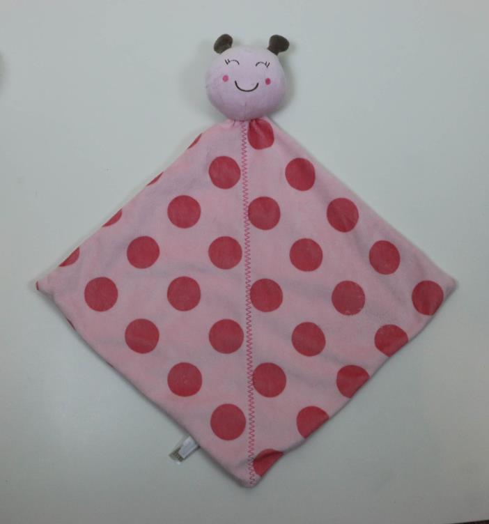 Carter's Ladybug Pink Polka Dot Lovey Security