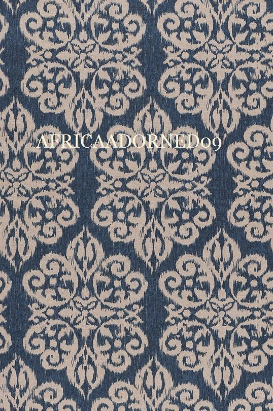V22 EXOTIC & ETHNIC CHIC  COTTON BLEND  PRINT MULTIPURPOSE HOME DECOR FABRIC BTY