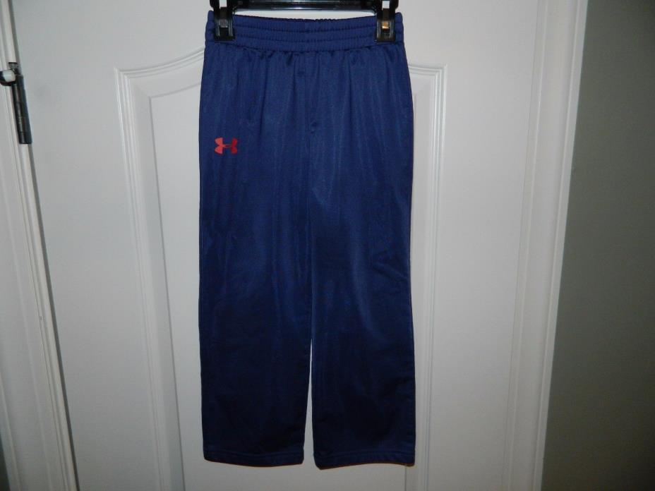 Boy's Under Armour Navy Athletic Sweat Pants Size 5