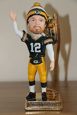 AARON RODGERS 2014 Forever Exclusive Bobblehead NFL MVP Trophy NIB Packers /500