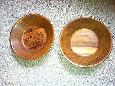 Solid Missouri Walnut - 2 bowls from Lebanon, MO