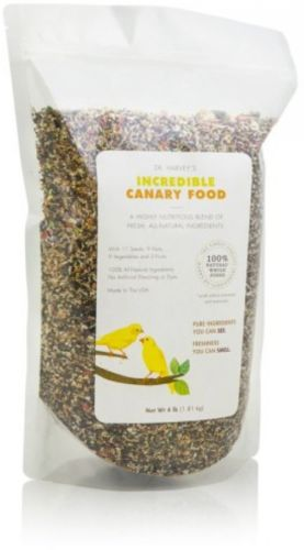 Dr. Harvey's Incredible Blend Natural Food For Canaries, 4-Pound Bag
