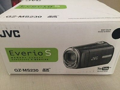 JVC Everio GZ-MS230BUSM 8GB Camcorder Camera w/45x Dynamic Zoom - BLACK/NOIR
