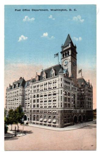 3849:  Washington DC POST OFFICE c1910s UNUSED Postcard
