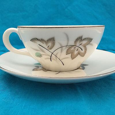 Phoenix China Pan Tan Tea Cup and Saucer