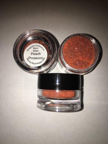 Tammy Taylor Dazzle Dust Micro Glitter Peach Prosecco 3.5g