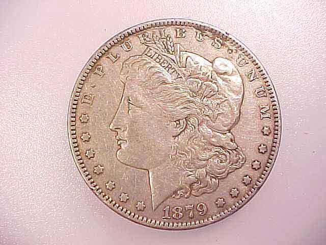 1879-S  MORGAN SILVER DOLLAR Good Detail